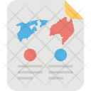 Geographic Analysis Icon