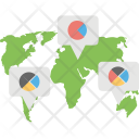 Geographic Chart Icon