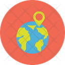 Geographic Information System Geolocating Or Positioning Geolocation Icon