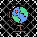Geographical Globe Geography Globe Earth Globe Icon