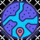 Geographical Location Geographical Location Icon