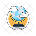 Geography Globe Table Icon