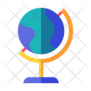 Geography Atlas Earth Icon