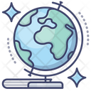 Globe Earth Education Icon