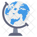 Globe Map Earth Icon