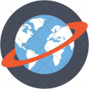 Geography Globe Planet Icon
