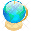 Geography Globe Map Icon