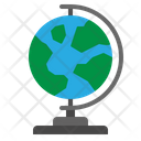 Earth Globe Geography Icon