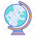 Geography Global Education Icon