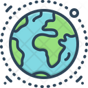 Geography Terra Earth Icon