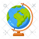 Geography Education School Icon
