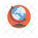 Geography Earth Science Geopolitics Icon