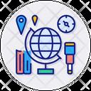 Geography Education Globe Icon