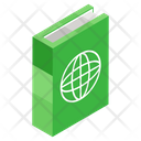 Geography Book World Book Global Knowledge Icon
