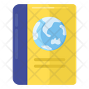Geography Book Education Study Icon