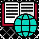 Book Globe School Icon