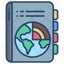 Geography Book Geography Knowledge Worldwide History Icon
