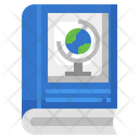 Geography Book Geography Knowledge Global Knowledge Icon