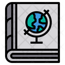 Geography Book World History Atlas Book Icon