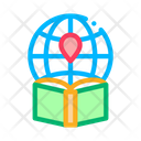 Geography Education Book Icon