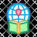Atlas Geo Map Icon