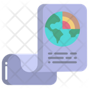 Geography File Document Paper Icon