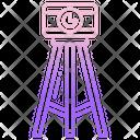 Geography Surveying Machine Icon