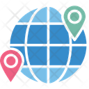Geolocation Global Locationing System Gps Icon