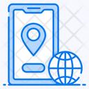 Geolocation Worldwide Location Earth Location Icon