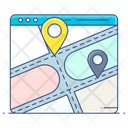 Geolocation Online Map Online Location Icon