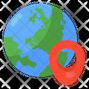 Global Location Global Positioning Global Gps Icon