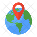 Global Location Global Gps Geolocation Icon