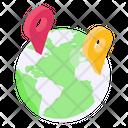 Global Location Global Gps Global Navigation Icon
