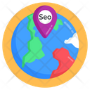 Global Location Geolocation Global Map Icon
