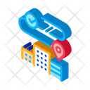 Geolocation Residential Buildings Icon
