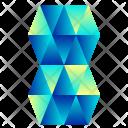 Geometric Building Icon