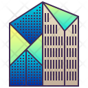 Geometric Building Icon