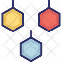 Geometric Pattern Hexagon Shape Hexagonal Pattern Icon