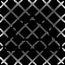 Geometric Ruler Icon