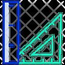 Geometric Scale Icon