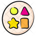 Geometric Shapes Mathematical Shapes Geometric Model Icon