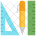 Pen Ruler Pencil Icon