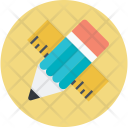 Geometrical Pencil Tools Icon