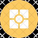 Geometrical Design Logotype Icon