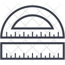 Protractor Ruler Degree Icon