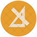 Geometry Tool Ruler Icon