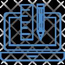 Geometry Box Scale Icon