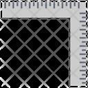Geometry Measuring Tool Icon
