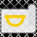 Geometry Measure Document Icon