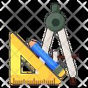 Geometry Measurement Tools Geometry Equipment Icon